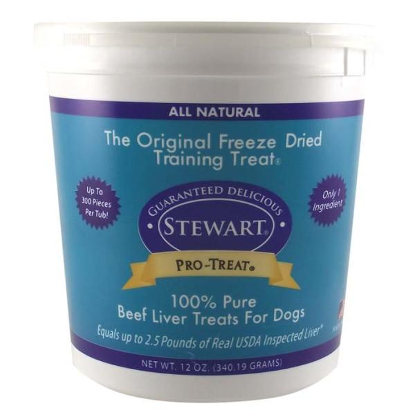 Stewart Pro Treat Beef Liver Freeze Dried Dog Treats