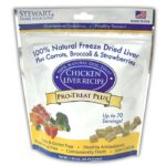 Stewart Pro-Treat Plus Chicken Liver with Carrots, Broccoli, and Strawberries