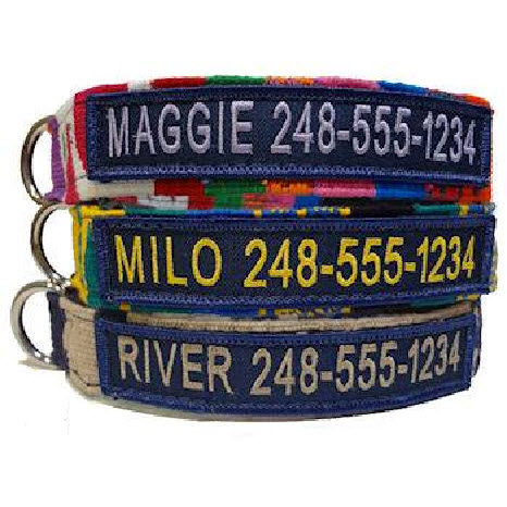 ... Personalized Dog Collar. Maya Collection