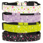 Retro Nylon Dog Collars