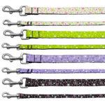 Retro Nylon Ribbon Dog Leash Collection