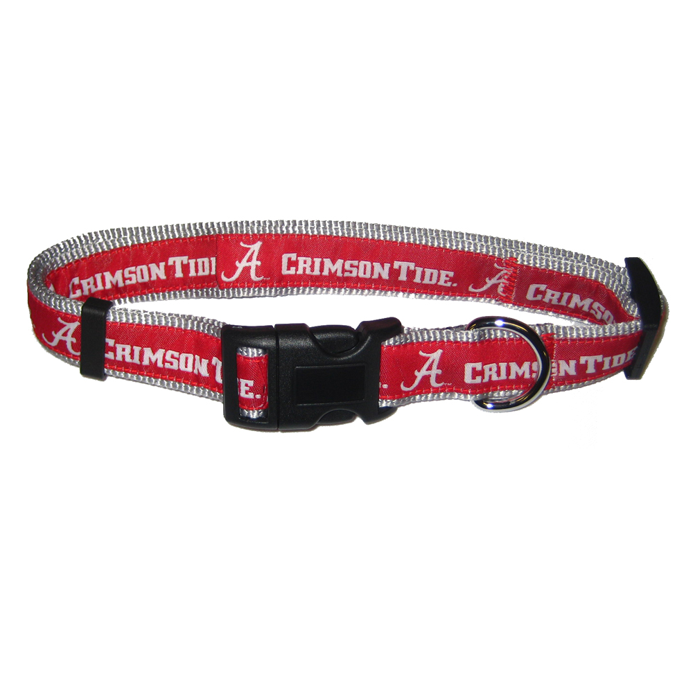 Crimson Tide Dog Collar