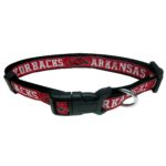 Arkansas Razorbacks Dog Collar