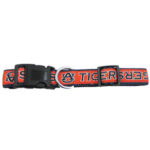 Auburn University Tigers Dog Collar