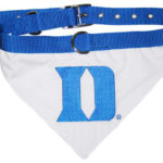 Duke Blue Devils Dog Collar Bandana
