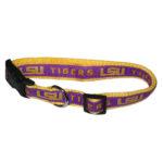 LSU Tigers Dog Collar
