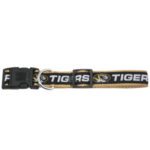 Missouri Tigers Dog Collar