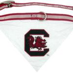 South Carolina Gamecocks Dog Collar Bandana
