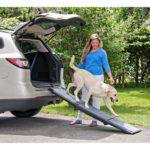 Carpeted Tri-Fold Pet Ramp