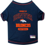 Denver Broncos Pet Tee Shirt