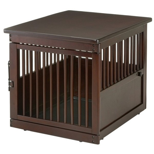 Richell End Table Dog Crate Houndabout