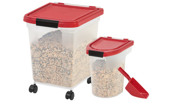 Dog Supplies Houndabout  sc 1 st  Listitdallas & Iris Pet Food Storage Container - Listitdallas
